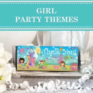 Find girl birthday party theme ideas for your next girly birthday party.