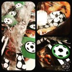 Soccer Favor Tags | Client Photo | DIY Party Decorations at CameoPartyDesigns