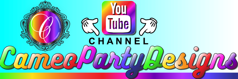 CameoPartyDesigns on YouTube