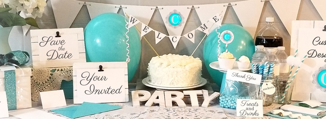 Custom Party Printables by Cameo Party Designs on Etsy