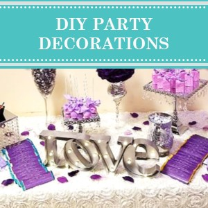 DIY Party Decoration Ideas on Cameo Party Designs.  Find DIY party decoration ideas for your next do-it-yourself party.