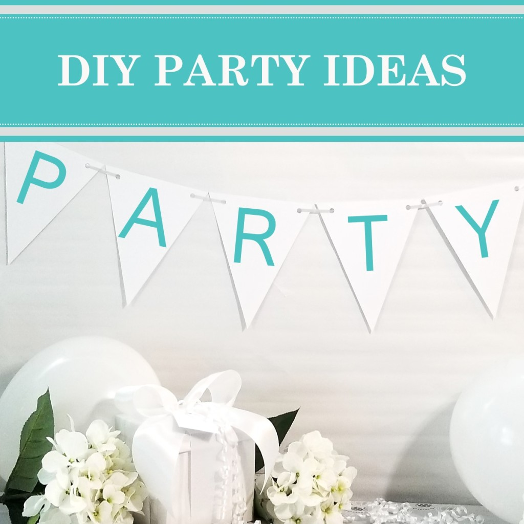 DIY party ideas for party food, holidays, special occasions, party decorations, and gift ideas. Stay organized with party planning tips and checklists.