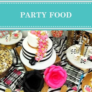 DIY Party Food Ideas on Cameo Party Designs. Find mouth watering party food ideas for your next party or event.