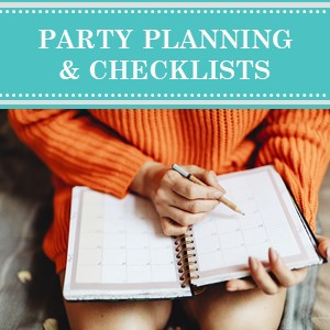 Party Planning Tips and Checklists on Cameo Party Designs. Find helpful party planning tips and checklists to keep you organized.