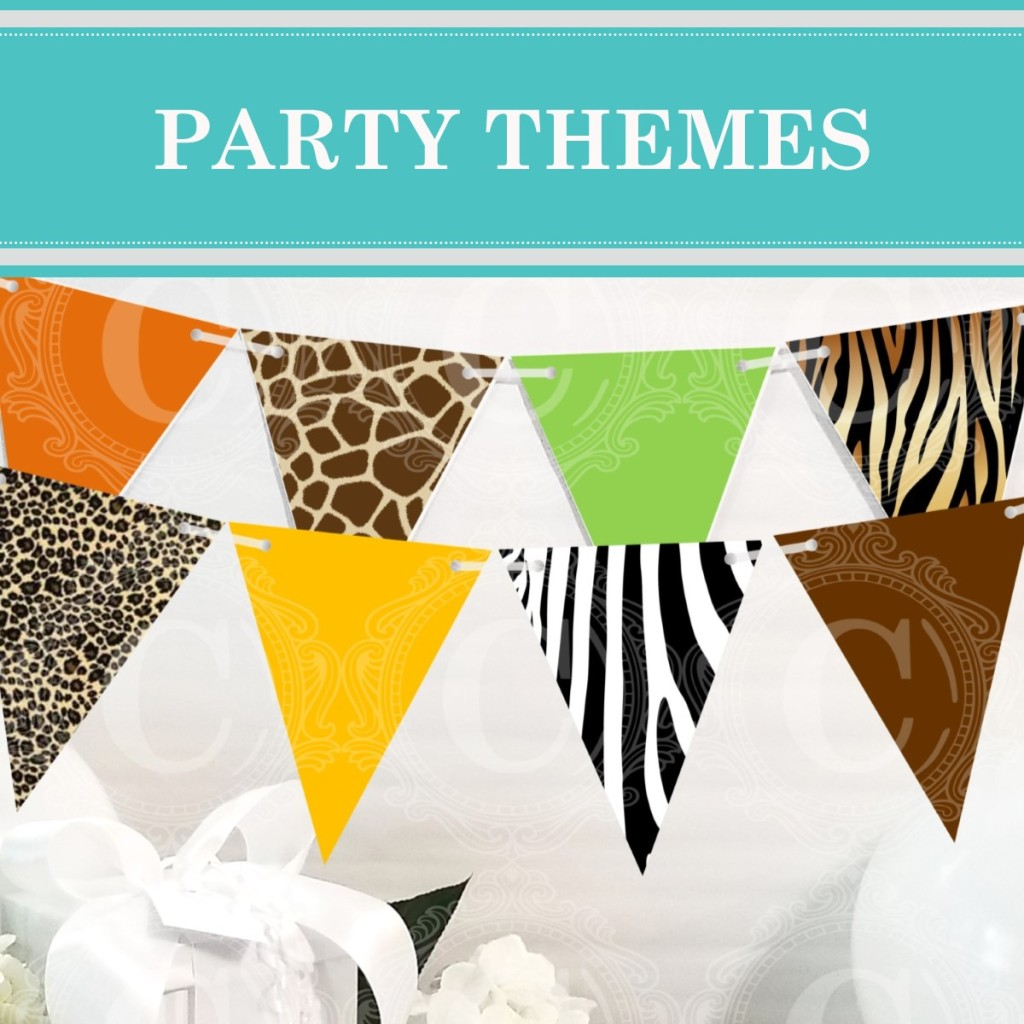 Find over 100 party theme ideas on Cameo Party Designs.